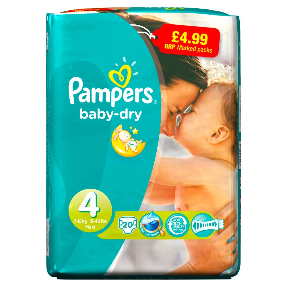 Pampers Bd Maxi £4.99 20s