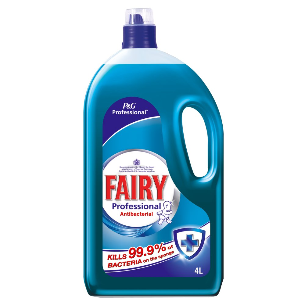 Fairy Professional Washing Up Liquid Antibacterial 4L