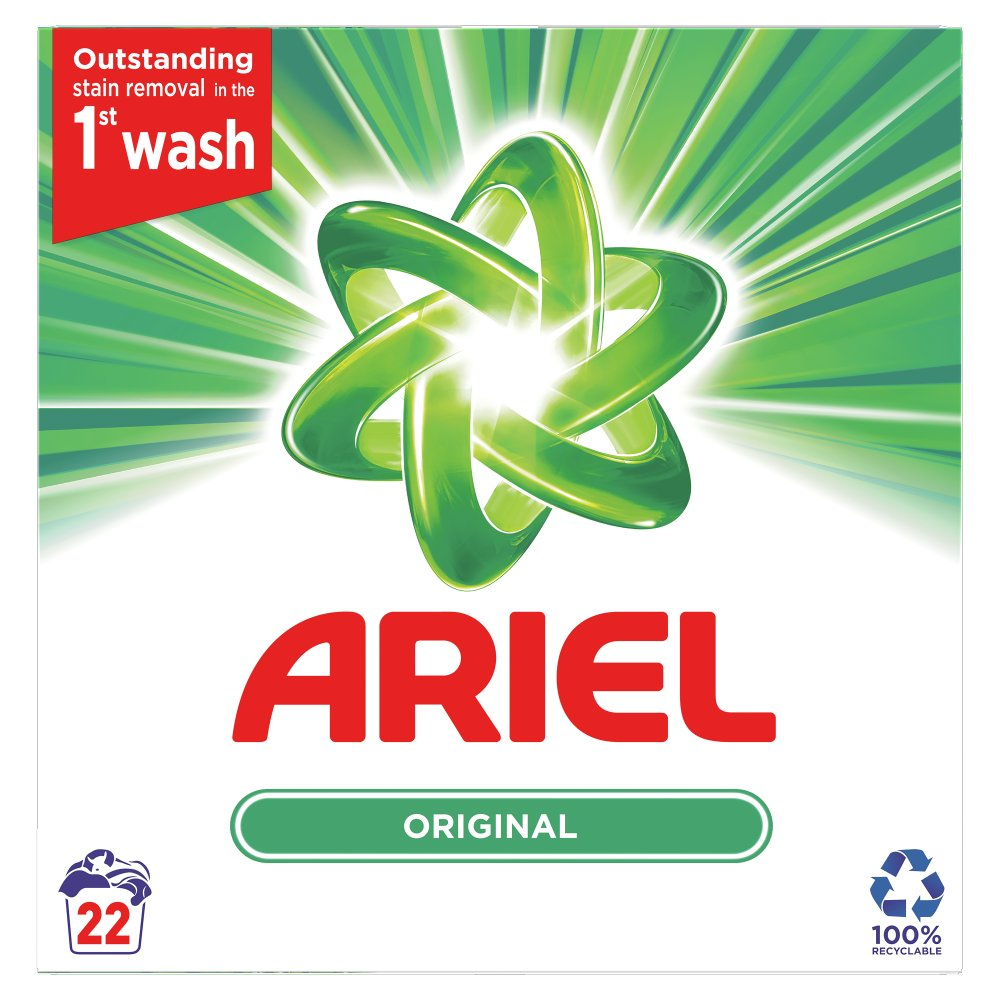 Ariel Washing Powder Original 1.43Kg 22 Washes