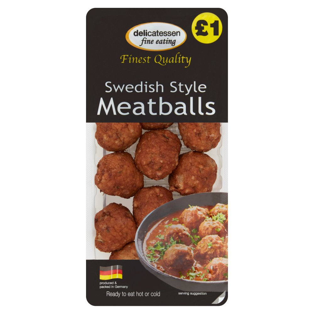 Dfe Swedish Meatballs £1
