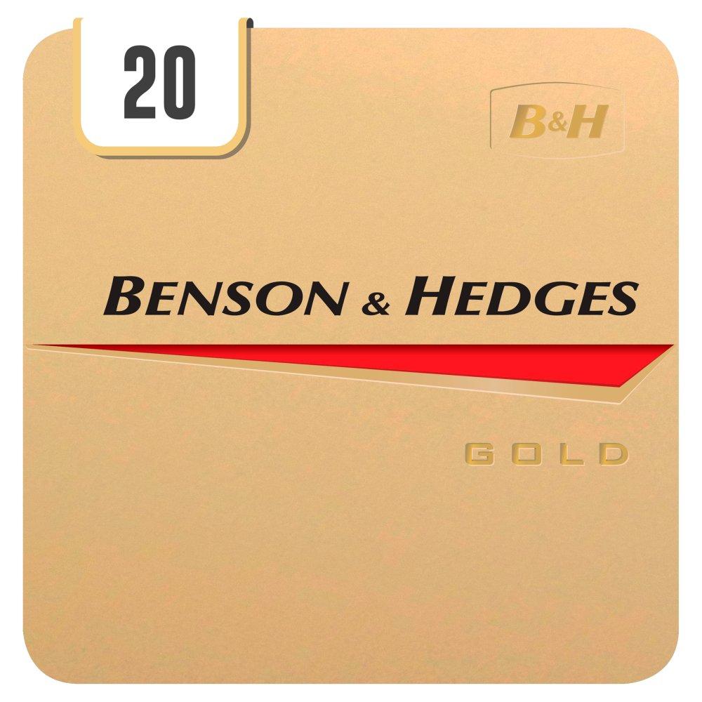 Benson & Hedges Gold 20 Cigarettes