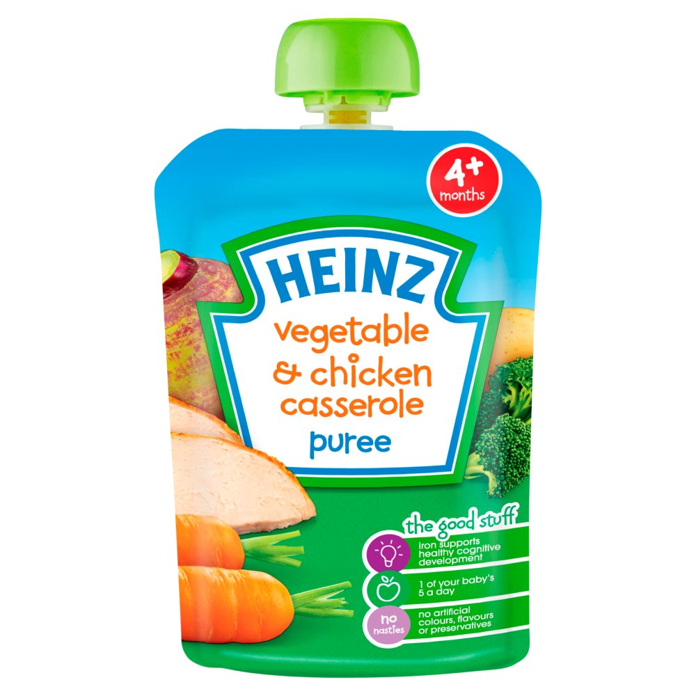 Heinz Vegetable Chicken Casserole Pouch