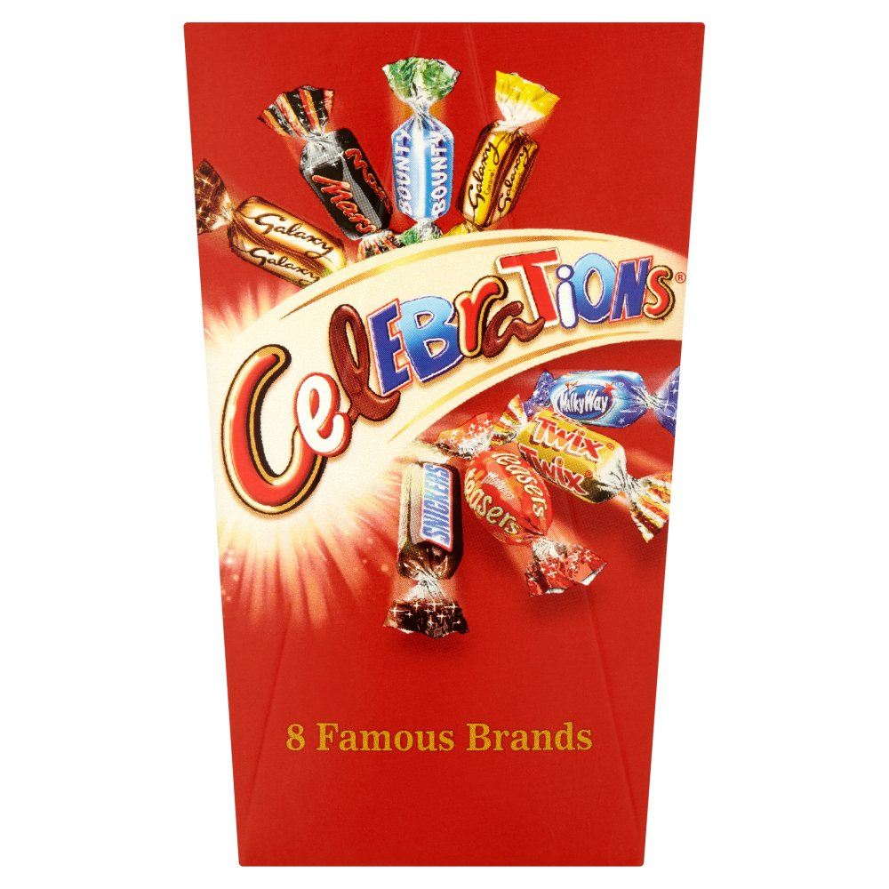 X Celebrations Mini Box 70g