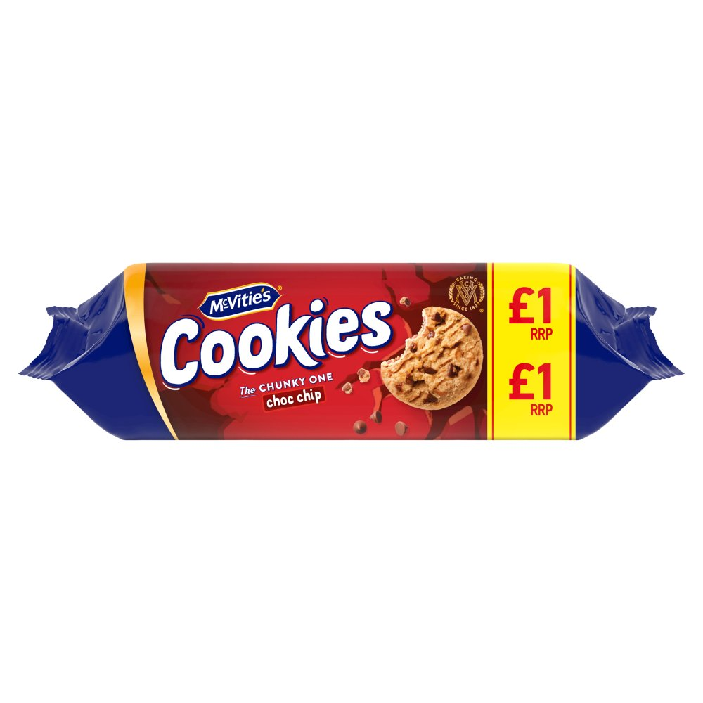 Mcvities Chocolate Chip Cookie PM £1