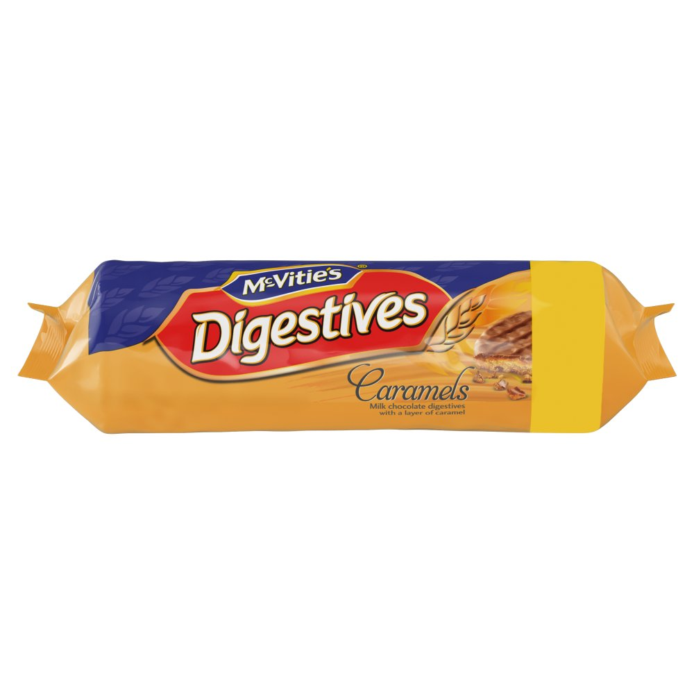 Mcvities Caramel Digestives 15For12 PM £1.50