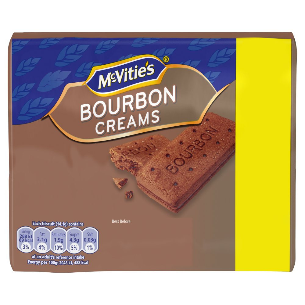 Mcvities Bourbon Creams 89p