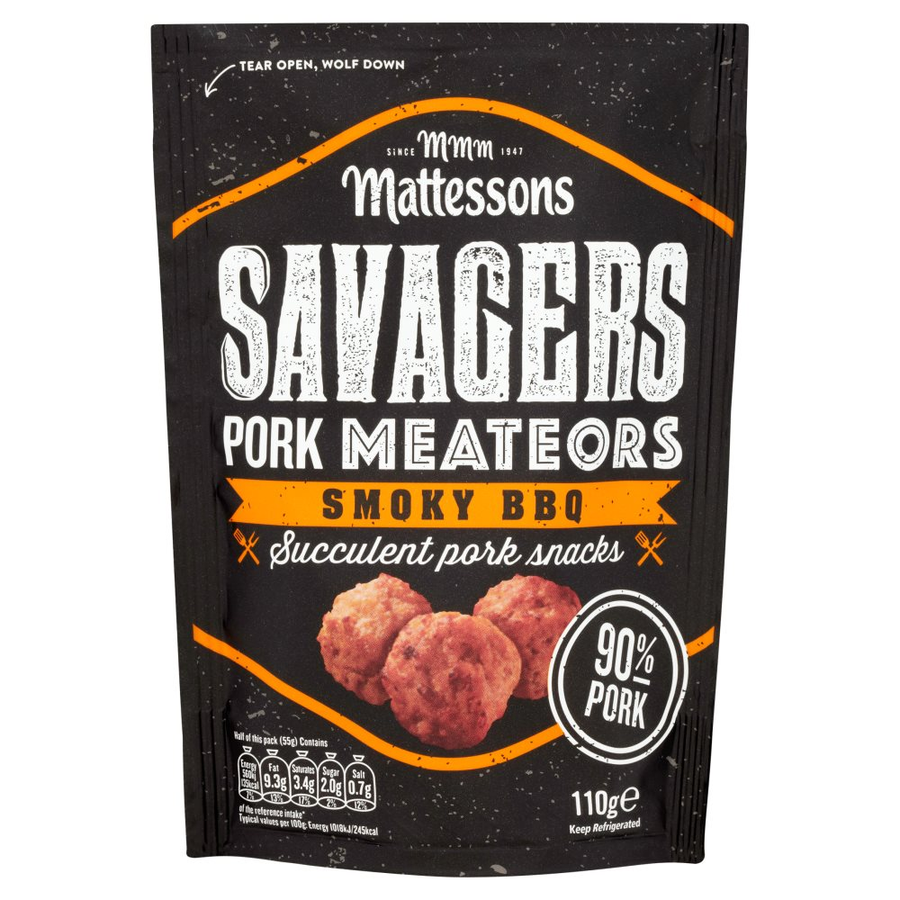 Mattesons Savagers Meateor Hot BBQ