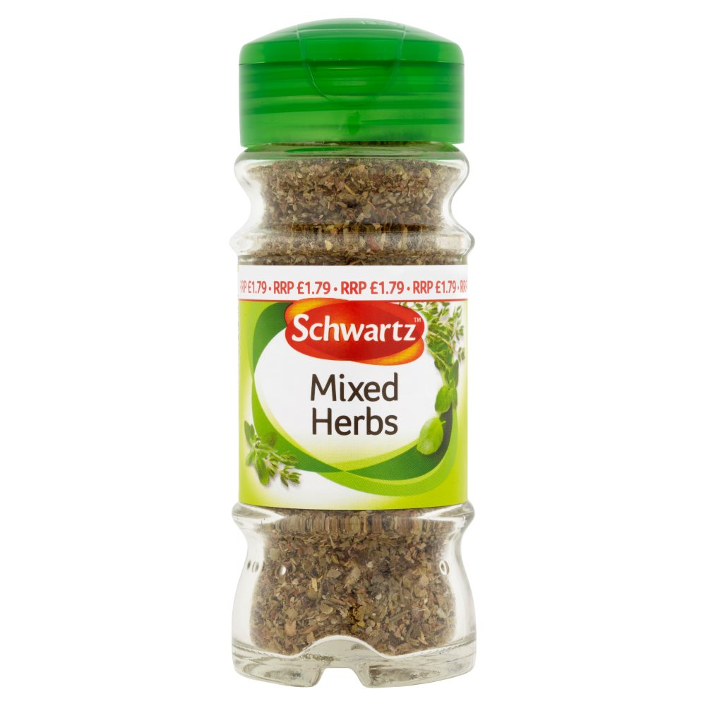 Schwartz Mixed Herb Spice £1.79