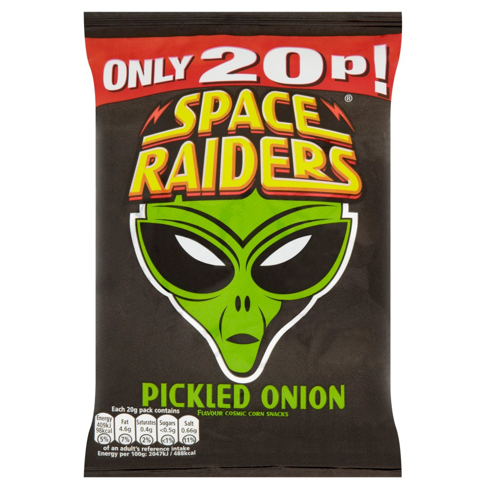 Space Raiders Pickled Onion PM 20p