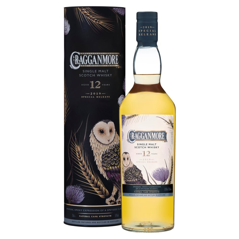 Cragganmore 12 Yrs Old Sgl Malt Scotch Whisky70cl