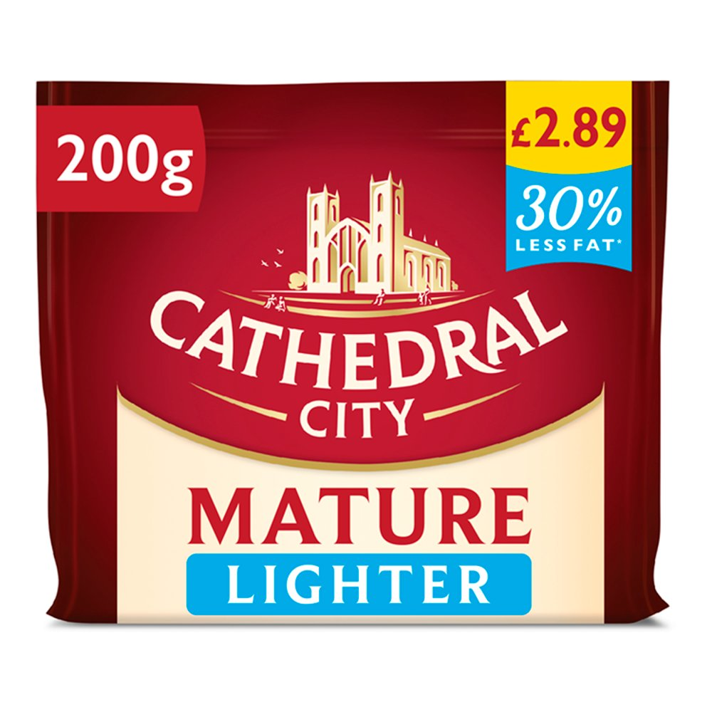 Cathedral City Lighter Mature Cheddar PM £2.89