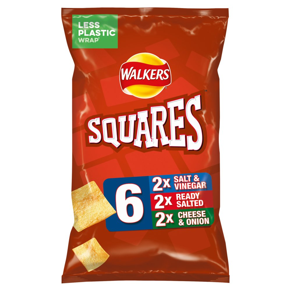 Walkers Squares Variety Snacks