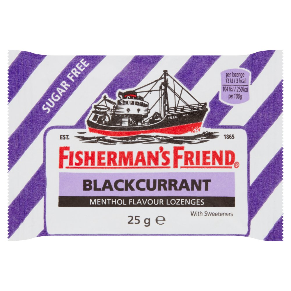 Fisherman's Friend Blackcurrant
