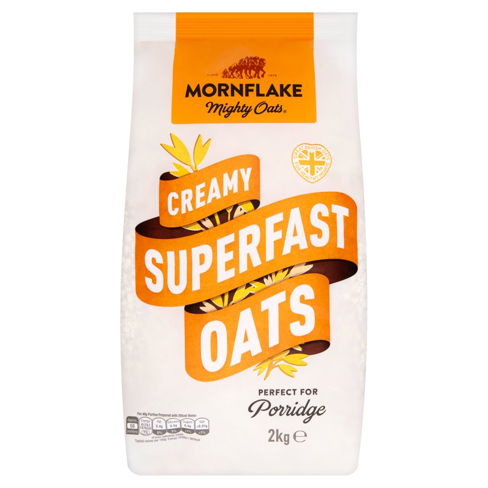 Mornflake Creamy Superfast Oats 2kg