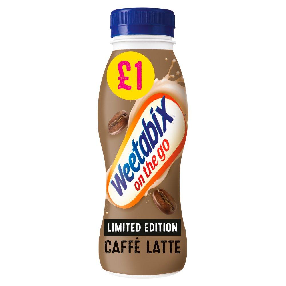 Weetabix On the Go Caffè Latte Breakfast Drink Case 8 x 250ml PMP £1