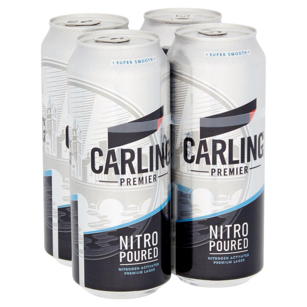 Carling Premier Lager 4 x 440ml