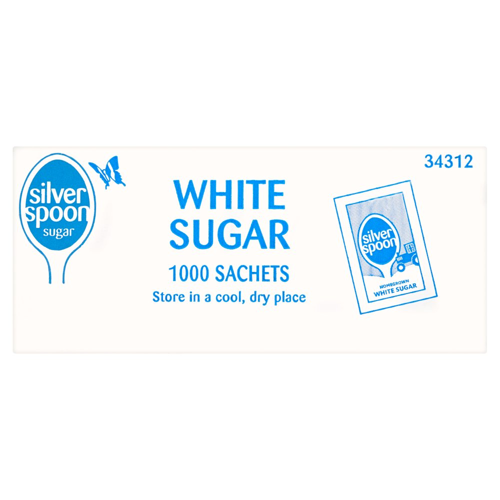 Silver Spoon White Sugar 1000 Sachets