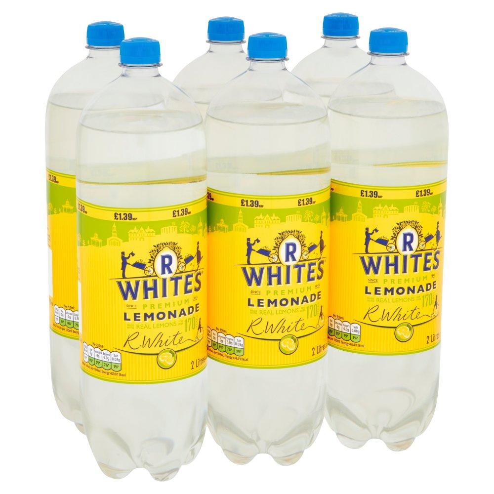 R. White's Premium Lemonade 6 x 2 Litres