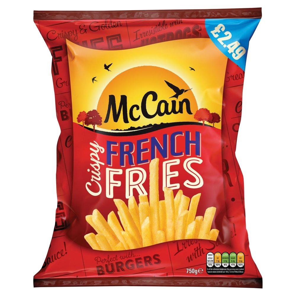 McCain Crispy French Fries 750g