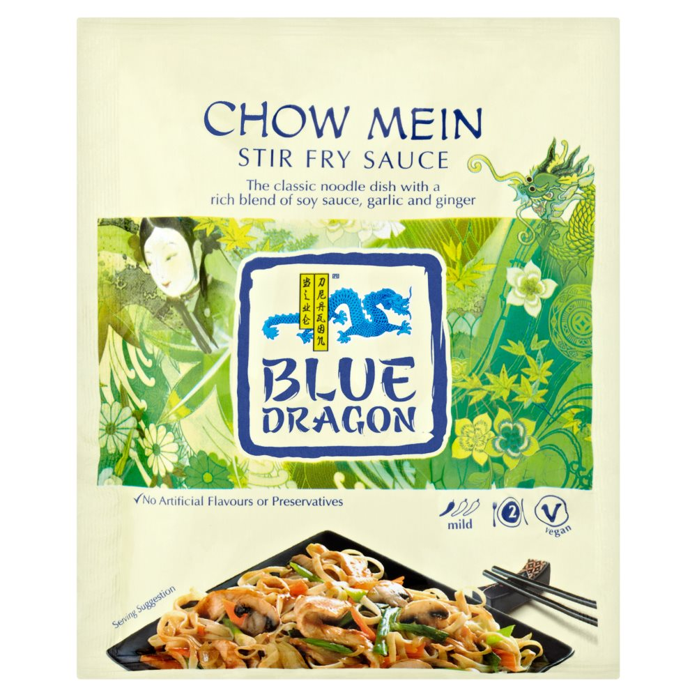 Blue Dragon Chow Mein Stirfry Convenience Pack