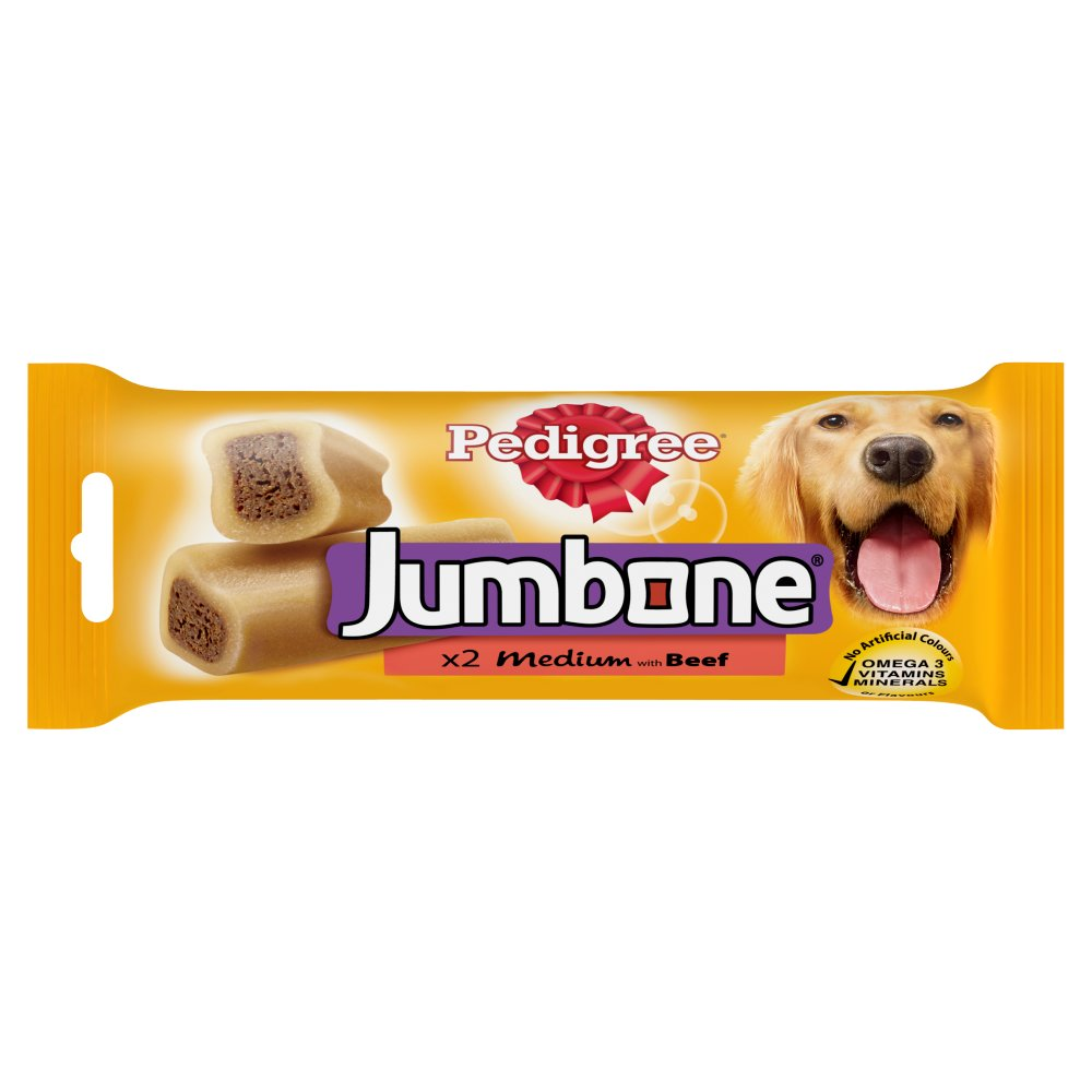 Pedigree Jumbone Beef 2pc