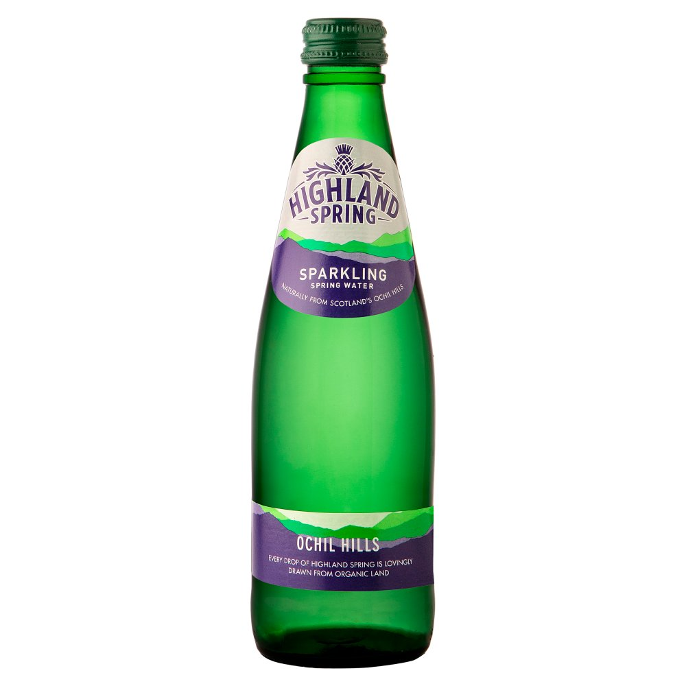 Highland Spring Sparkling Spring Water 330ml