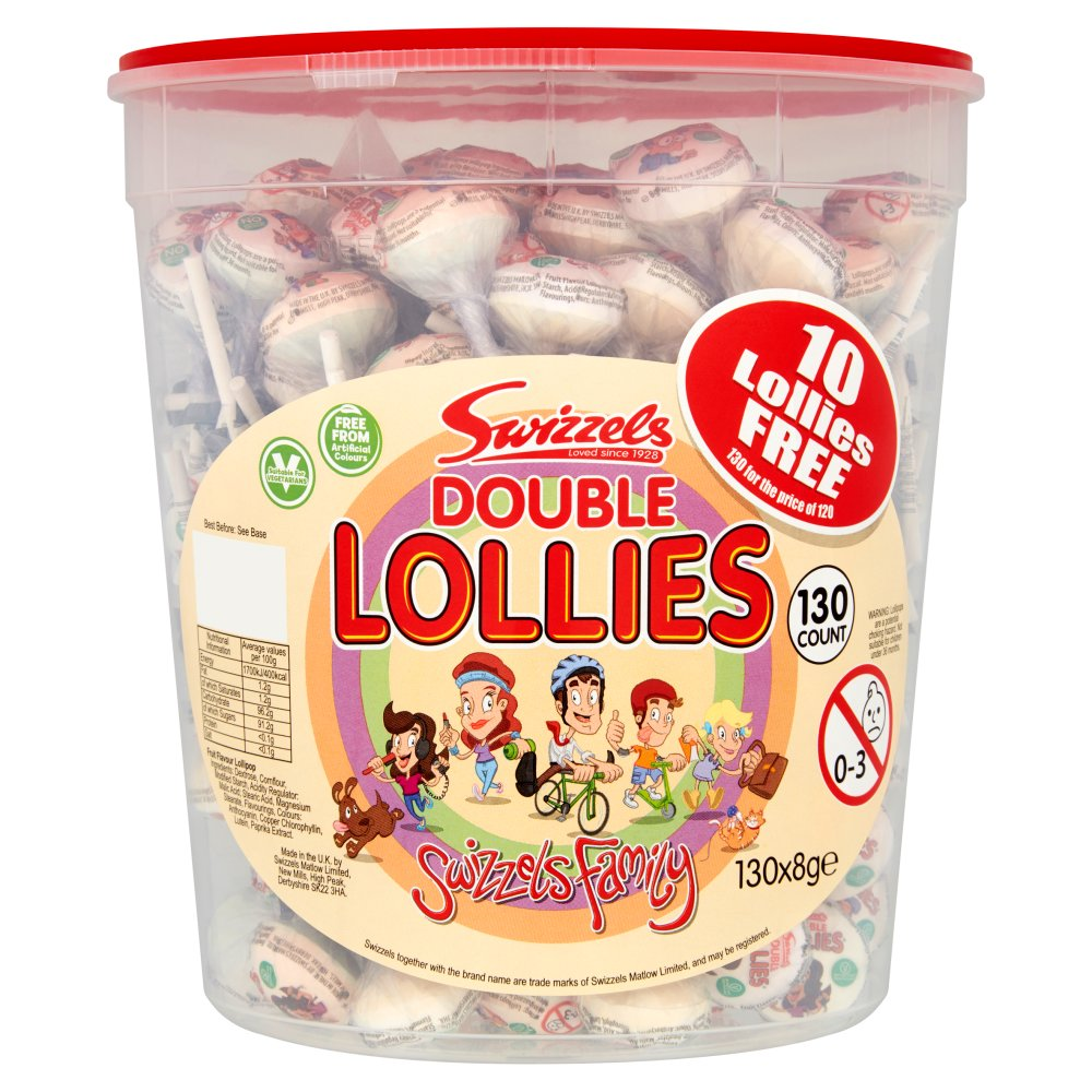 Swizzels Double Lollies