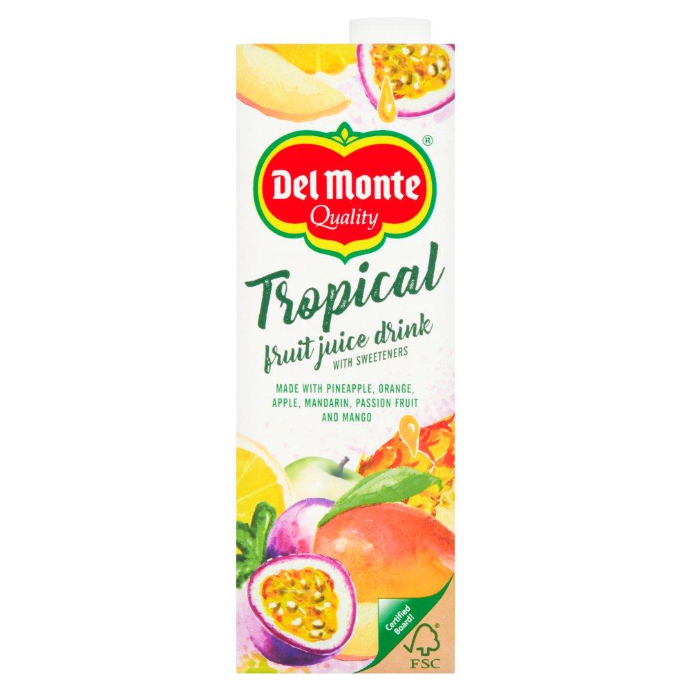 Del Monte Tropical Fruit Juice Drink 1 Litre