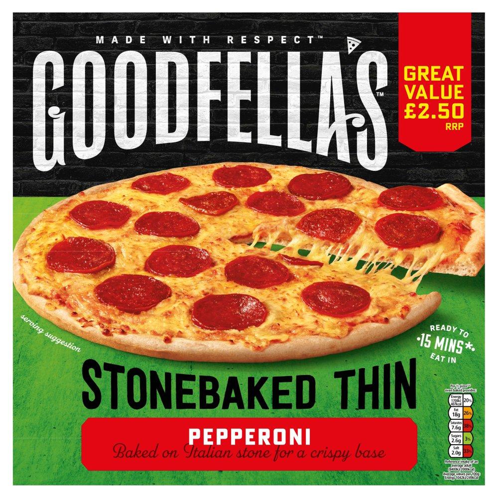 Goodfella's Stone Baked Thin Pepperoni 332g