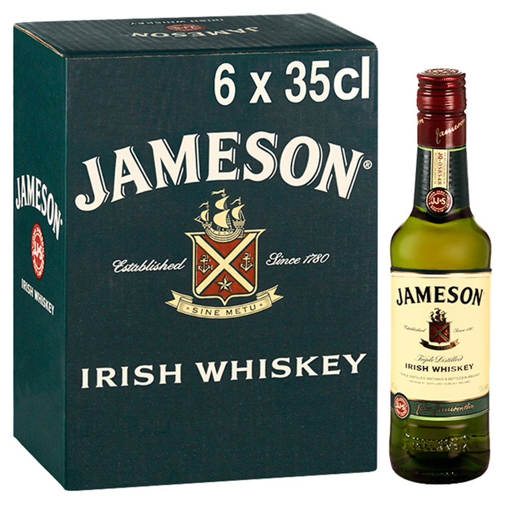 Jameson Irish Whiskey 6 x 35cl