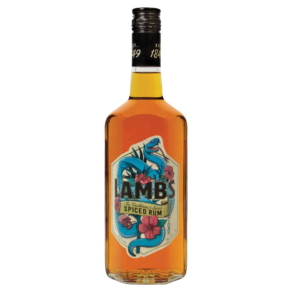 Lambs Spiced Rum 30percent Abv