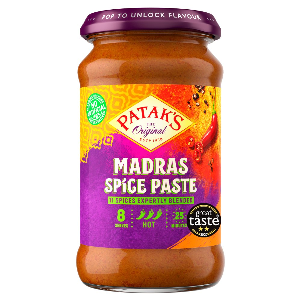 Patak Curry Paste Madras 283g