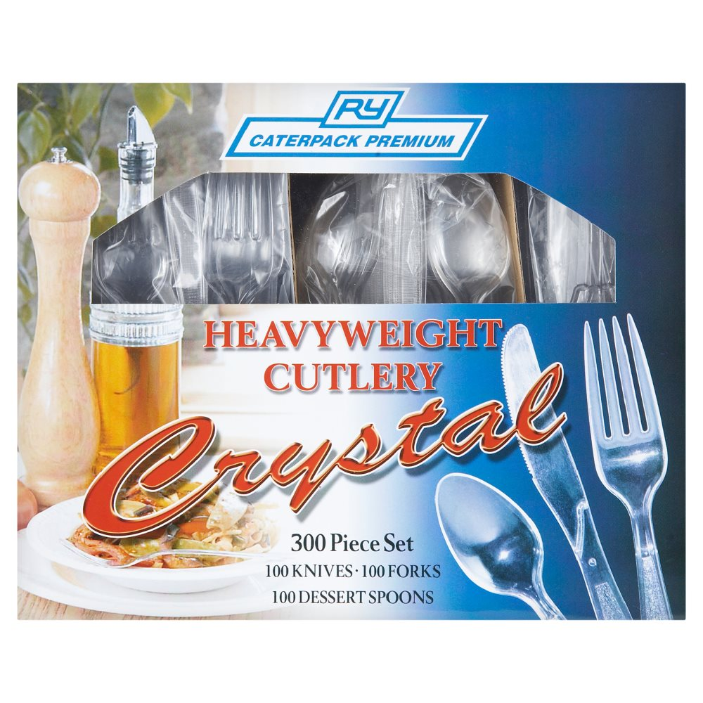 Caterpack Clear Cutlery