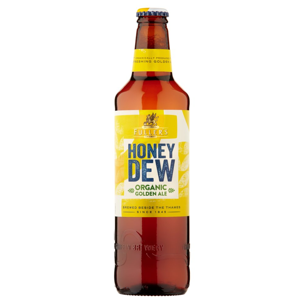 Fuller's Honey Dew Organic Golden Ale 500ml