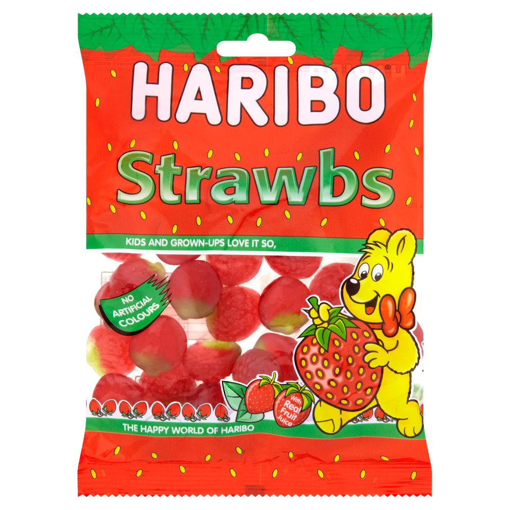 Haribo Strawberry Pouch