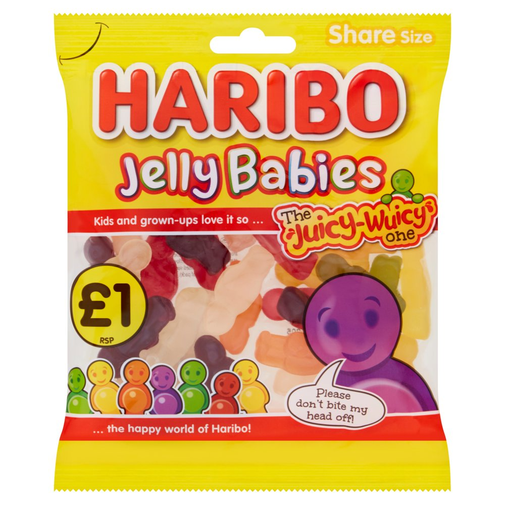 HARIBO Jelly Babies Bag 160g £1PM