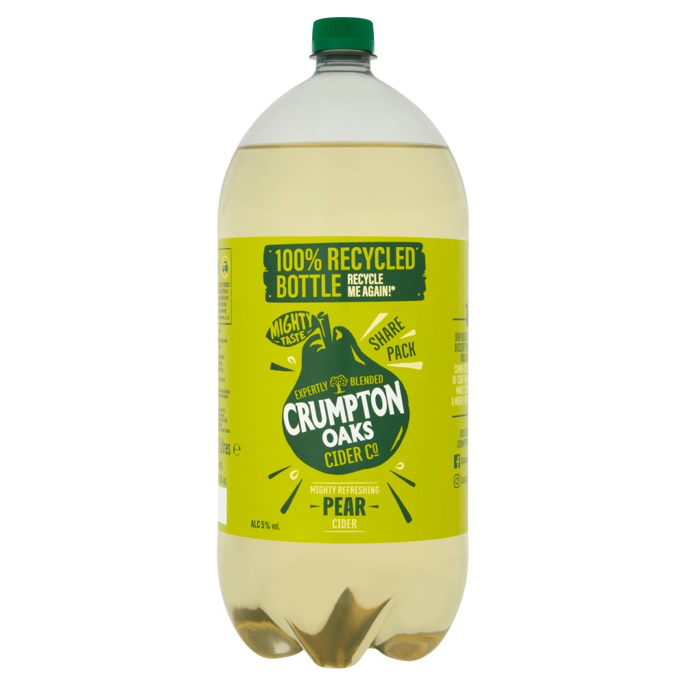 Crumpton Oaks Pear Cider 2.5 Litres