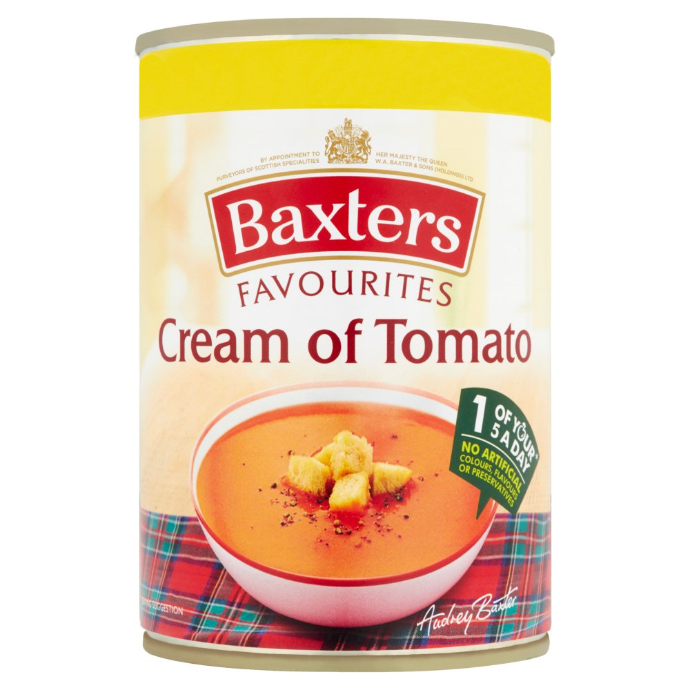 Baxters Favourites Cream Of Tomato Soup PM £1.09
