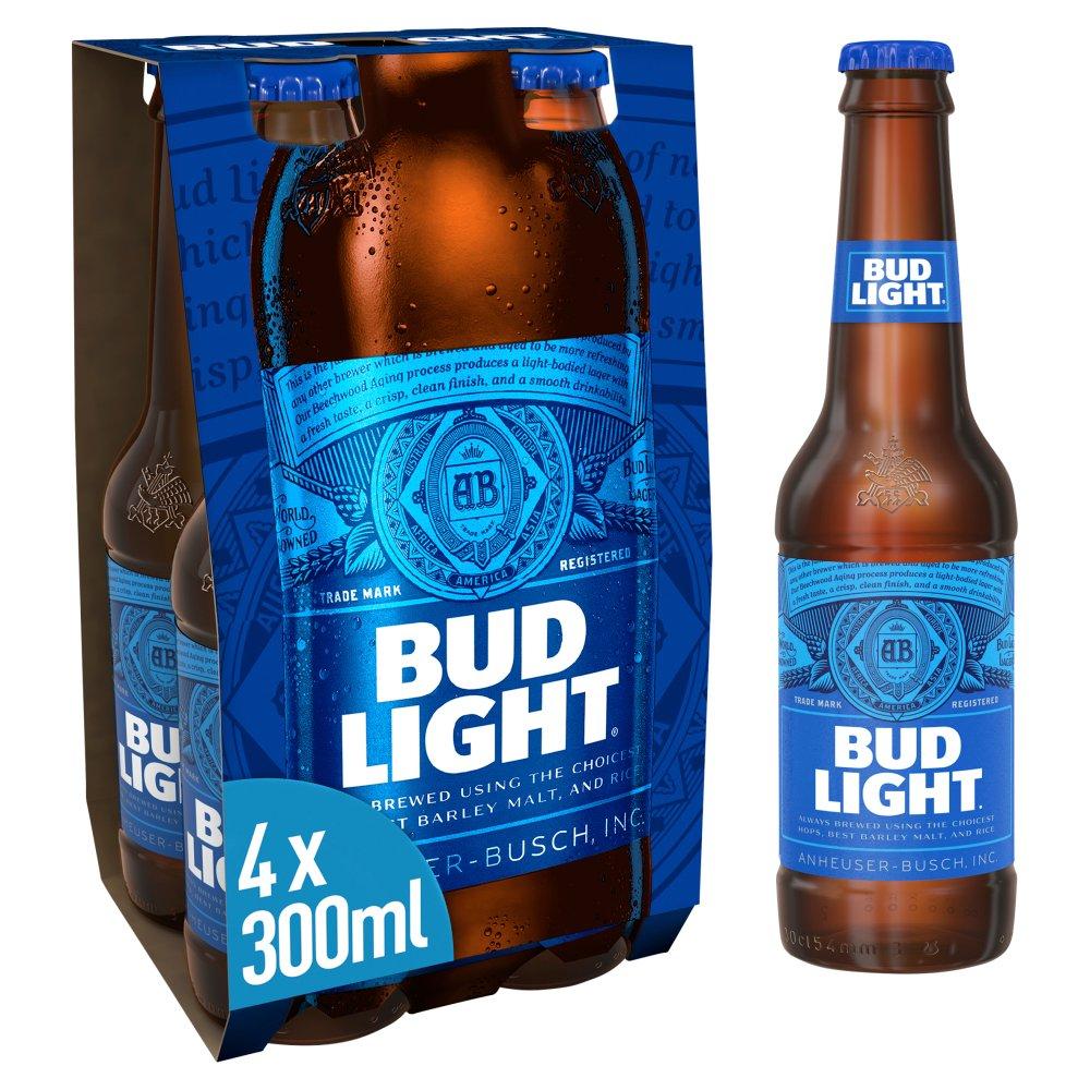 Bud Light 4 Pack 3.5%
