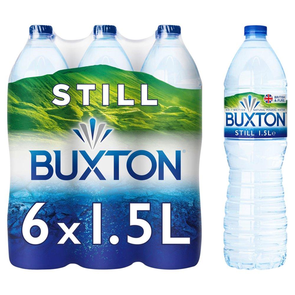 Buxton Still Natural Mineral Water 6 x 1.5L