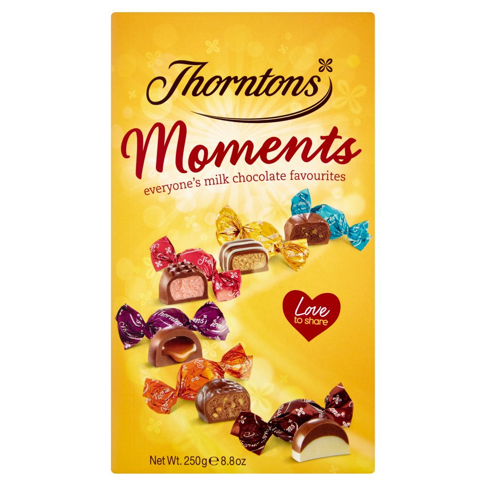 Thorntons Moments Chocolate Box 250g Best One