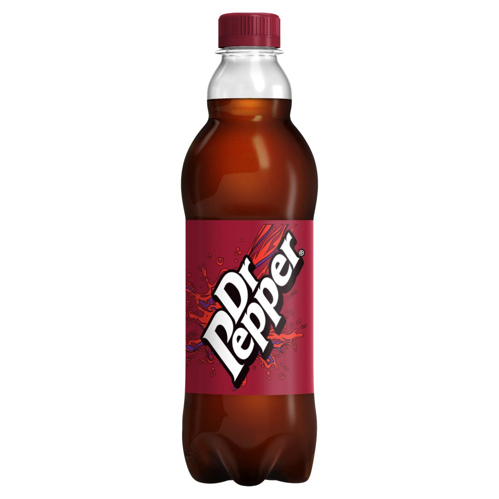 Dr Pepper 500ml PMP £1.09 or 2 for £2