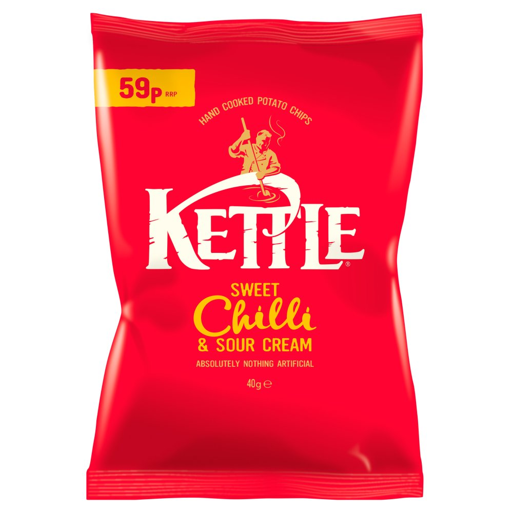 Kettle Chips Sweet Chilli PM 59p