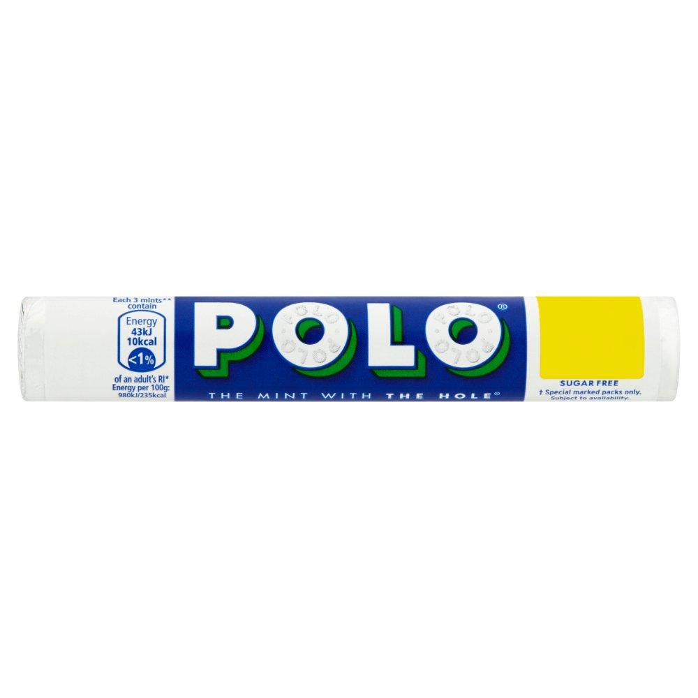 Polo Sugar Free Mint Tube 33.4g 2 for £1