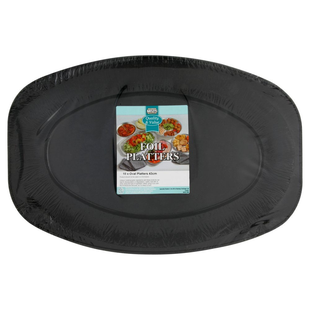 Batleys Platter Black Medium