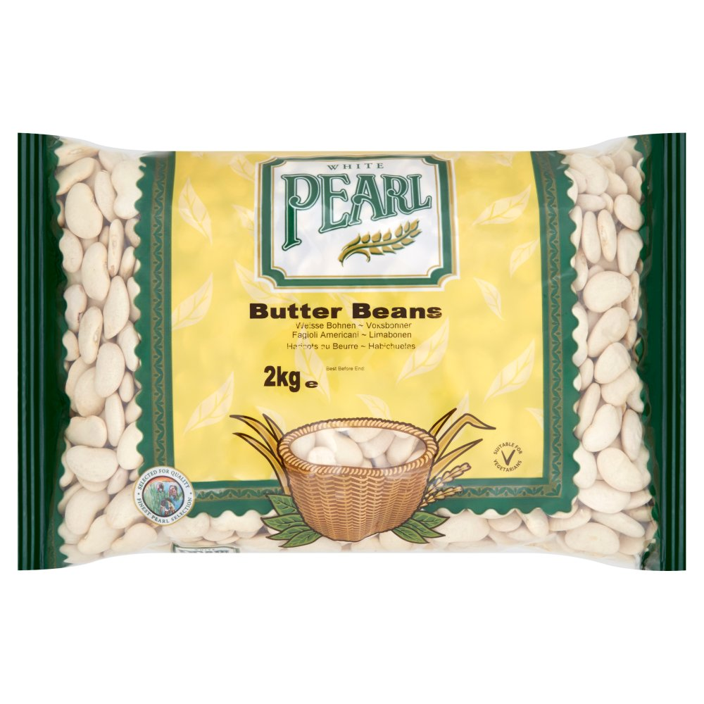 White Pearl Butter Beans 2kg