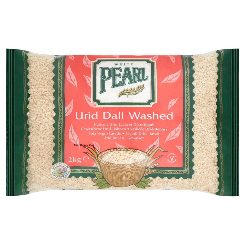 White Pearl Urid Dal Washed