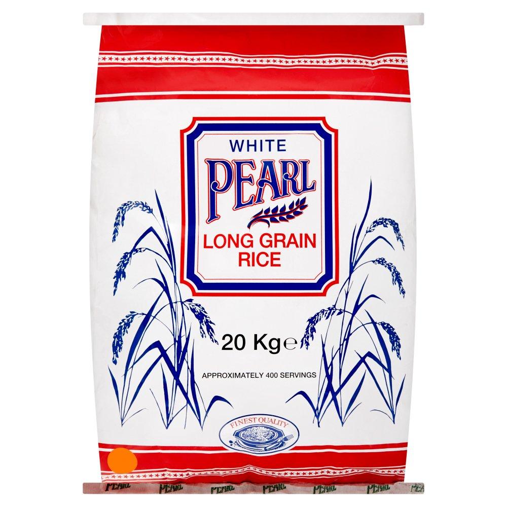 White Pearl Long Grain Rice 20kg