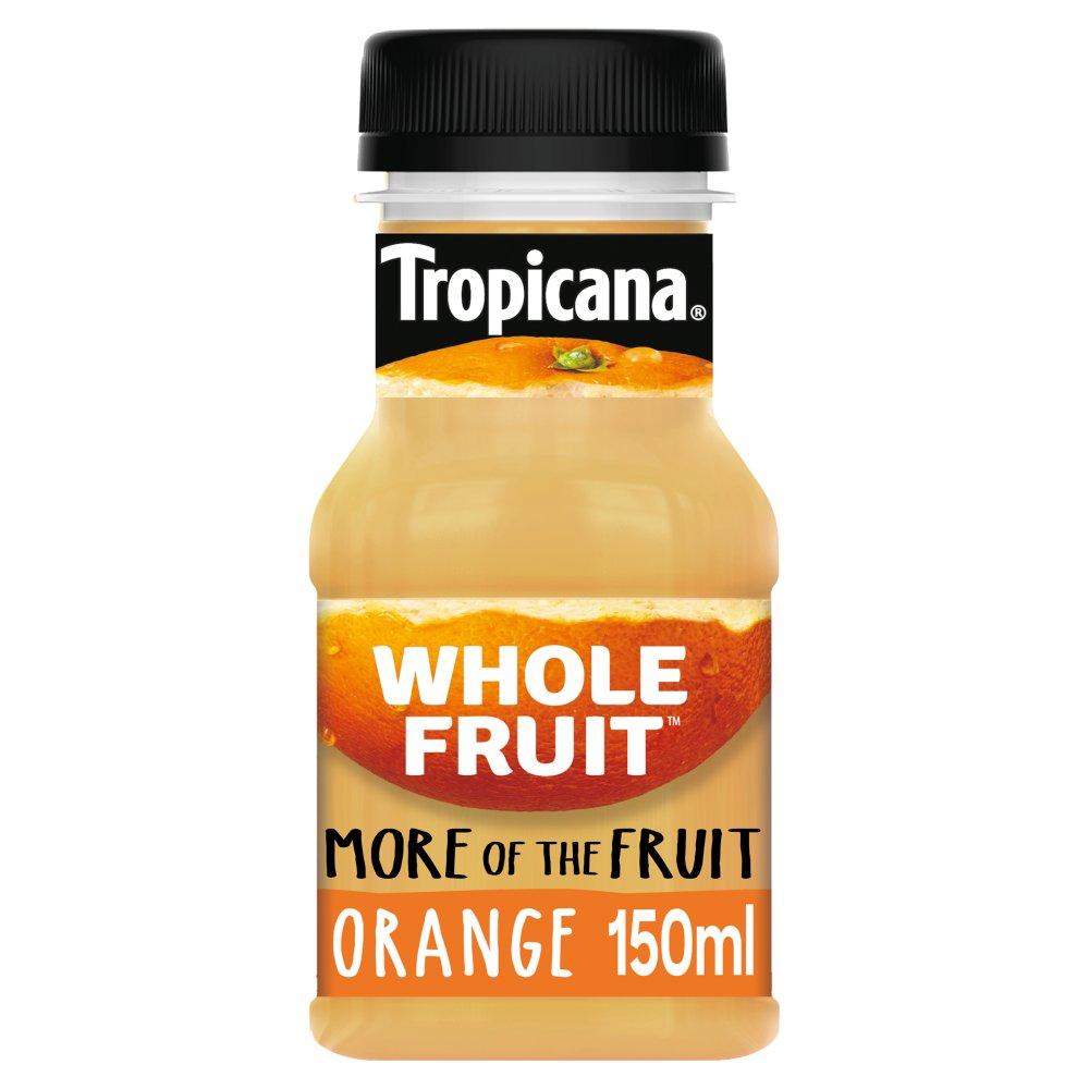 Tropicana Whole Fruit Orange Juice Drink 150ml