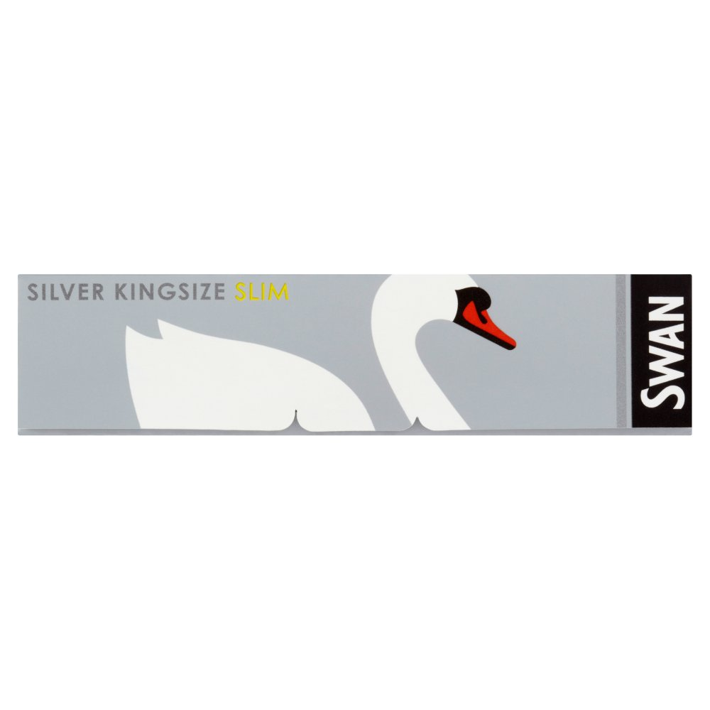 Swan Papers King Size Silver